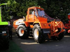 Трактор ХТА-200-02 Лесотехнический измельчитель (кусторез)