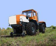 Трактор ХТА-200-05 на комбинированном ходу